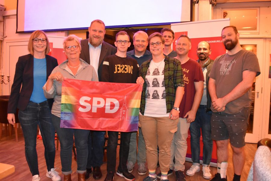 Gründung AG SPDqueer in Oldenburg